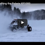 Snow Drifting The Polaris XP 1000